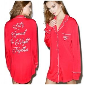Wildfox Other - Wildfox Let's Spend The Night Together Sleep Shirt