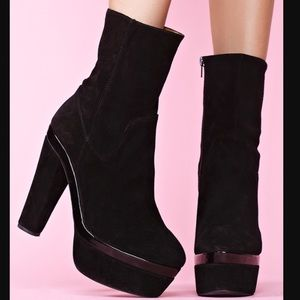 Jeffrey Campbell Shoes - Jeffrey Campbell X Nasty Gal Heel Boots ! Rare!