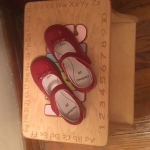 pediped Other - Sale! Beautiful red shoes.