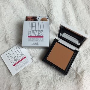 BNIB HAZELNUT BENEFIT HELLO FLAWLESS FACE POWDER