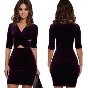 Ashlee Natalia Dresses & Skirts - Victoria Velvet Dress