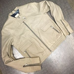 Ted Baker Jackets & Blazers - Ted Baker Roark grey, soft leather, size 3/4