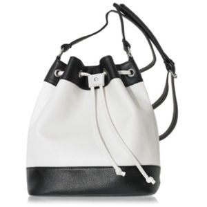 Color block Drawstring Bag
