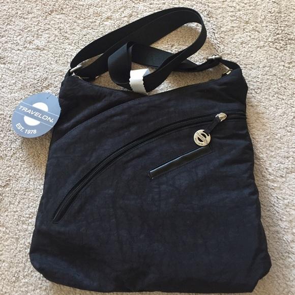 Travelon - Travelon Criss-Cross Organizer Shoulder Bag from Sam's ...