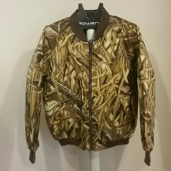 4902311121cae Cabela's Jackets & Coats | Nwot Cabelas Reversible Camobrown Bomber ...