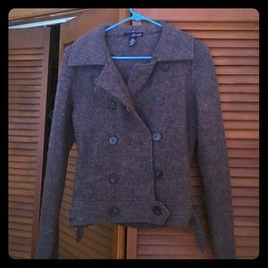 Brown jacket size small