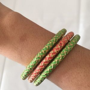 3 Lilly Pulitzer bracelets