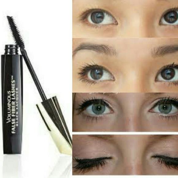 cf35d0508d9 L'Oreal Makeup | Voluminous False Fiber Lashes Black Lacquer | Poshmark