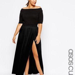ASOS Curve Dresses & Skirts - ASOS Curve Maxi Skirt With Split