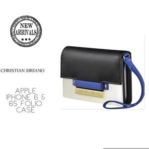 Christian Siriano Handbags - Christian Siriano iPhone 6 & 6s Folio Case