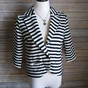 Forever 21 Jackets & Blazers - Navy striped blazer
