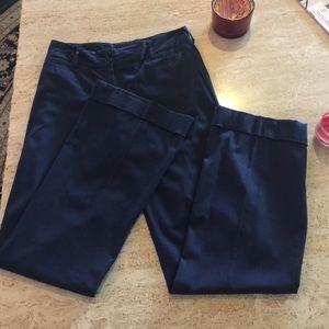 Theory Blue Cuffed Pants. Size 4