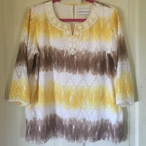 Alfred Dunner Tops - Alfred Dunner tie dye top