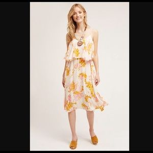 Anthropologie Paper Crown Mongolia Dress