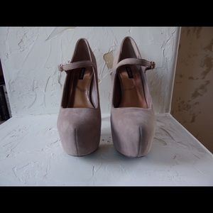 Shoemint platform heels like new size 8.5