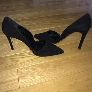 Banana Republic Adelia D'Orsay Black Pump Sz 9.5
