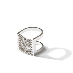 Jenny Bird Jewelry - Jenny Bird Silver Canopy Ring/Free Shipping.