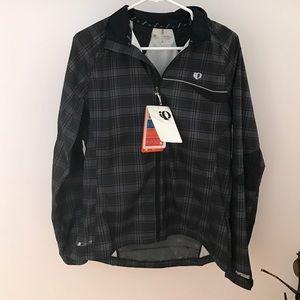 Jackets & Blazers - Pearl Izumi Plaid Jacket