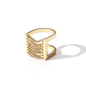 Jenny Bird Jewelry - Jenny Bird Gold Canopy Ring