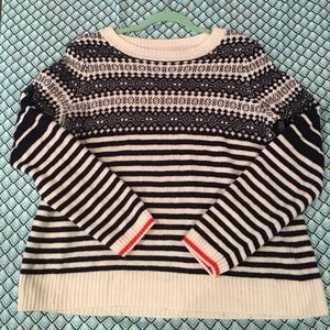 J.CREW Factory Holiday sweater