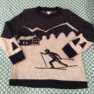J.CREW Factory Holiday Skier Sweater