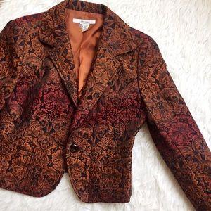 Zara Jackets & Blazers - • Zara • Sunset Floral Blazer
