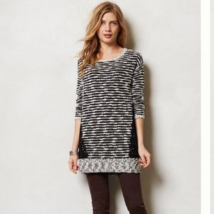 Anthropologie Sweaters - Anthro Staccato Stripe Tunic sweater