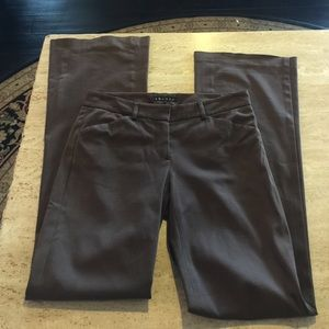 Theory Brown Pants. Size 4.