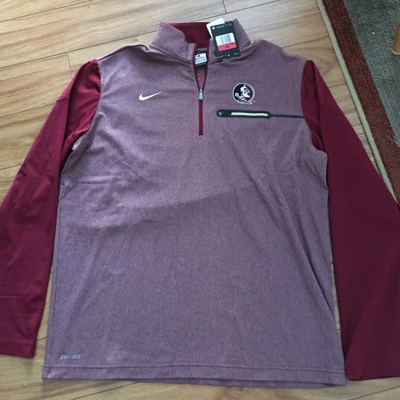 90184d49b Nike Jackets & Coats | Mens Fsu Florida State Elite Hybrid Jacket ...
