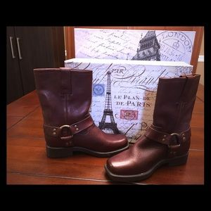 Frye Other - Frye Girls Boots-Brown, Size 13