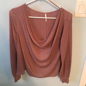🎉Final Price🎉 FreePeople Loose Neck Thin Sweater