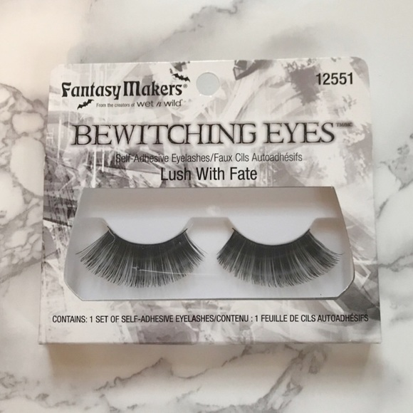 Makeup Wet N Wild Halloween Fake Eyelashes Poshmark