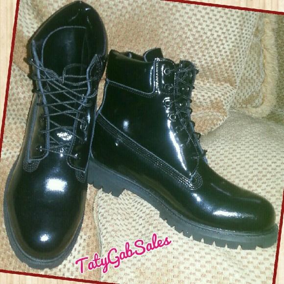 Timberland Shiny Boots Fashion