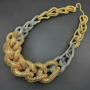 Jewelry - Rope statement necklace