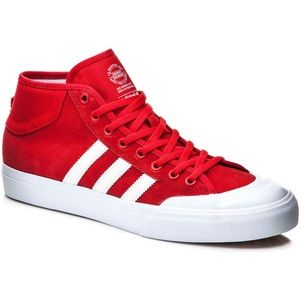 Adidas Other - ⭐️ SALE ⭐️ Adidas Matchcourt Mid Red mid-high top