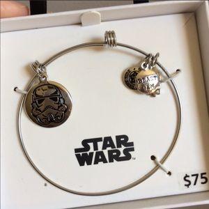 Nwt Star Wars Stainless Steel Bangle Bracelet