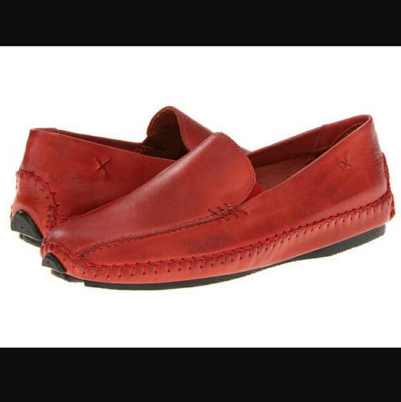 1ea43c14 PIKOLINOS Shoes   Jerez 8242 Red Leather Loafers Size 38   Poshmark