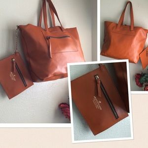 Alberta di Canio Leather handbag Italy