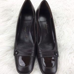 Salvatore Ferragamo Shoes - 💕SALE💕Salvatore Ferragamo Chocolate Dress Shoes