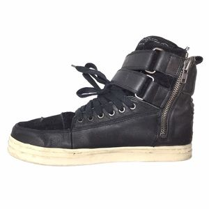 All Saints Other - ALL SAINTS HIGH TOP LEATHER & SUEDE SNEAKERS!!!