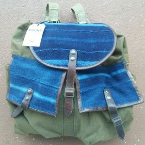 Will Leather Goods Handbags - Will Leather Goods Indigo Surplus Rucksack 31618