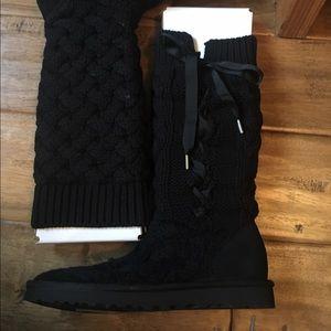 e66218d6190 Women's Mahayla corset/ knit boots
