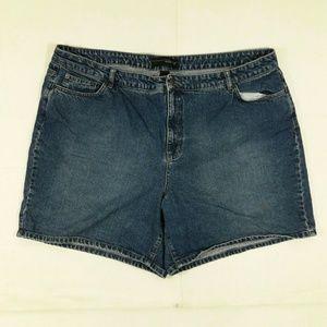 Venezia Pants - Blue Jean Shorts