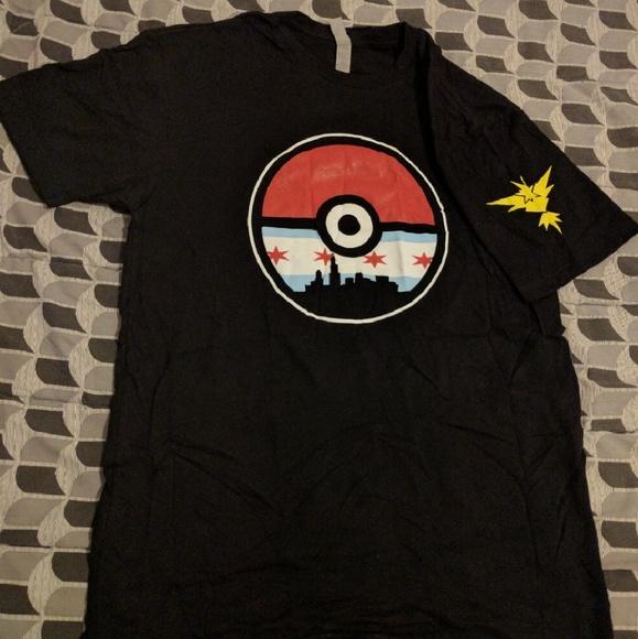 5fd82284 Shirts | Pokemon Go Chicago Team T Shirt Team Instinct | Poshmark
