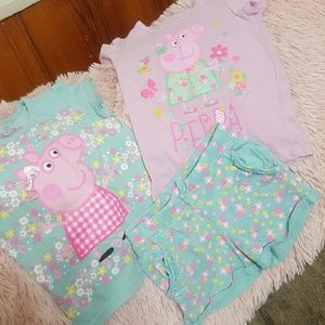 Peppa Pig Other - PEPPA PIG 3 PIECE SET SIZE 4t