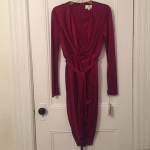 Altuzarra for Target Red Satin Dress