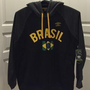 Umbro Other - Umbro Brasil Hooded Sweatshirt /New