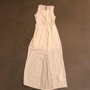 White Midi dress!