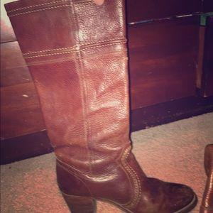 Frye Shoes - Frye Jane boot in brown/cognac size 8