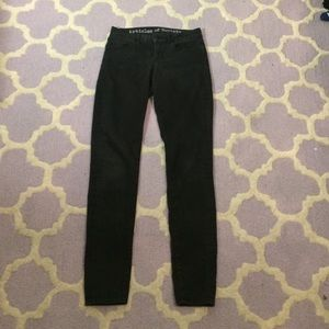 Articles Of Society Denim - Articles of Society Black Jeans